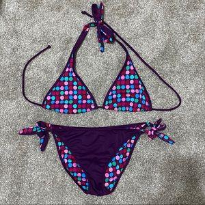 Victoria's Secret reversible polka dot bikini